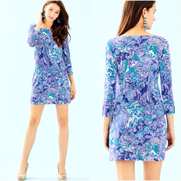 d289370d28cd40 Lilly Pulitzer UPF50+ Sophie Dress - Cat Call. M_5c20cea5aa87700c92c0af0a